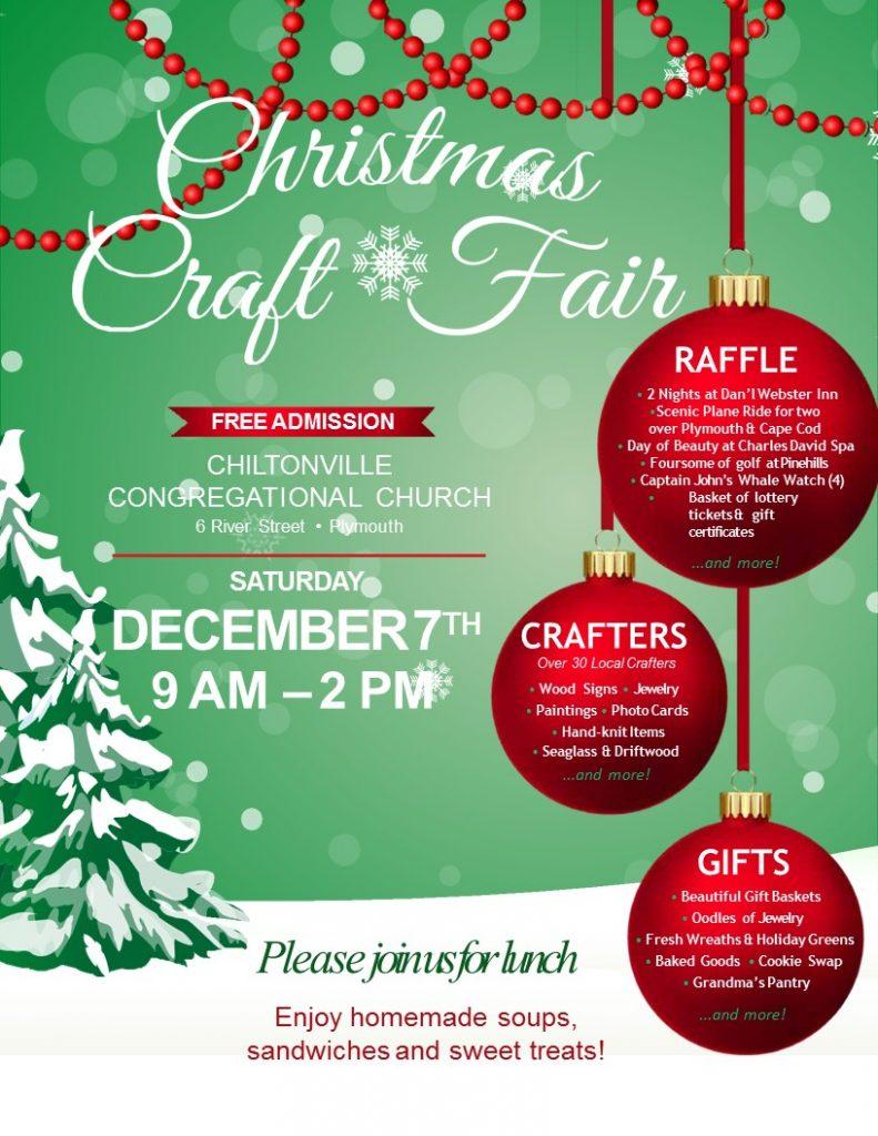 Christmas Fair Chiltonville 2020 Church CRAFT FAIR – 2019 – chiltonvillechurch.org